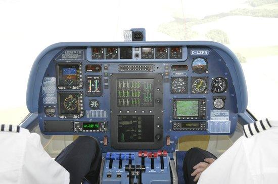 Airship Paris: Le poste de pilotage