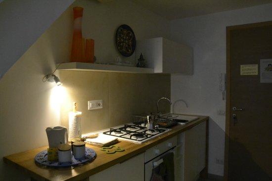 Flat Napoli Perche No: La cucina