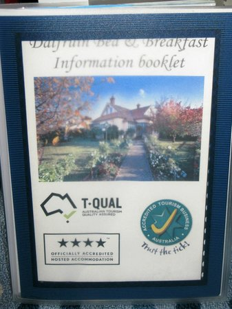 BallyVista and Dalfruin Bed & Breakfast: The 'Information' Directory