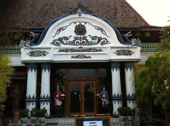 Sekar Kedhaton Boutique and Restaurant: Fachada