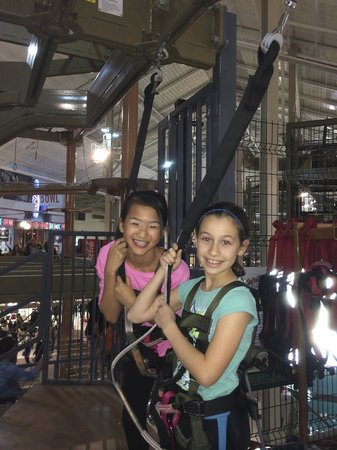 Palisades Climb Adventure: my daughter and friend
