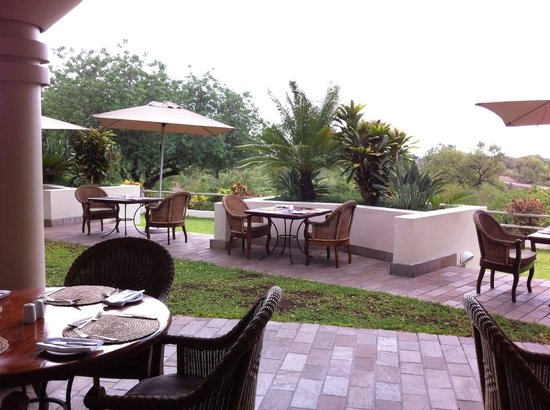 Ilala Lodge: Terrasse