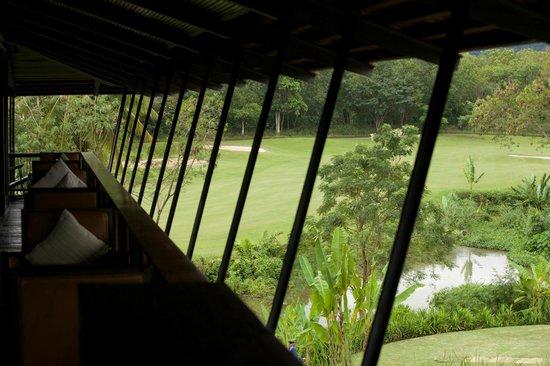 Kirimaya Golf Resort Spa: View from Mist Bar & Restaurant.
