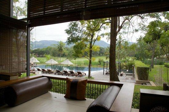Kirimaya Golf Resort Spa: View from balcony in room.