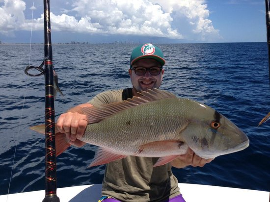 Blue Infinity Charters: Nice Mutton Snapper!