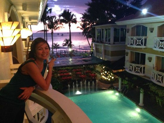 Boracay Mandarin Island Hotel: view