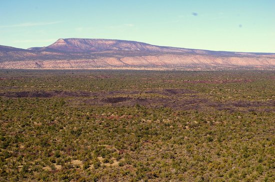El Malpais National Monument : View from Sandstone Bluffs