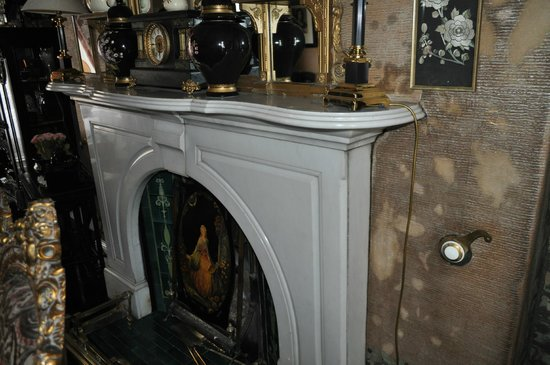 Charlemont House: One of the many fireplaces