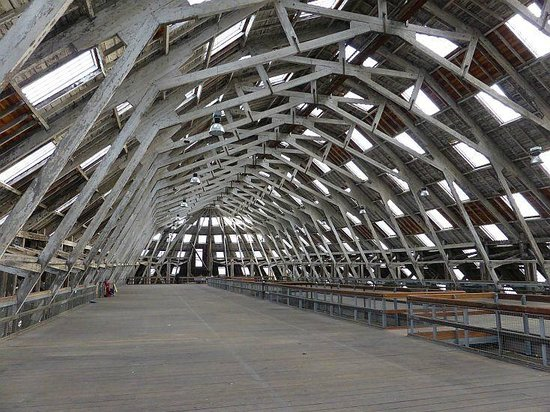 The Historic Dockyard Chatham: The Covered Slip  - The Big Space
