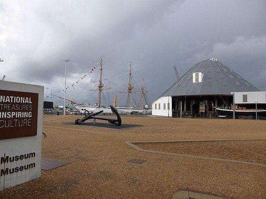 The Historic Dockyard Chatham: The yard