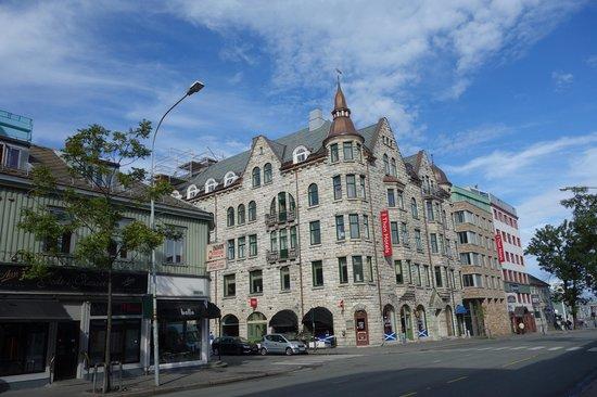 Thon Hotel Gildevangen: Fachada Thon Hotel  Gildevangen Trondheim