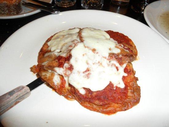 Cucina di Pesce : Eggplant Parmigiana