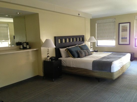 Inn of Chicago: Huge corner room with views of downtown