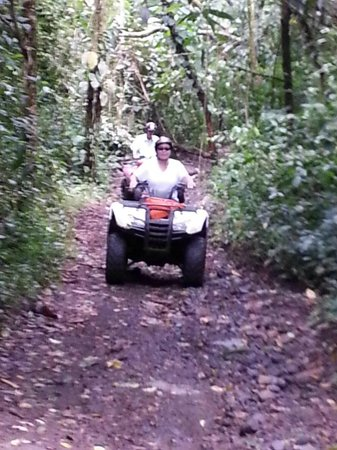 Original Arenal ATV : Going through the jungle was my favorite part! A lot cooler too.