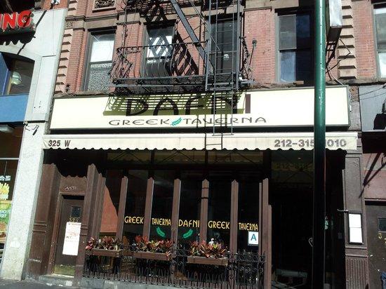 Exterior - Dafni Greek Taverna