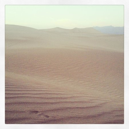 Furnace Creek Resort & Fiddler's Campground : The Mesquite Dunes, instagrammified