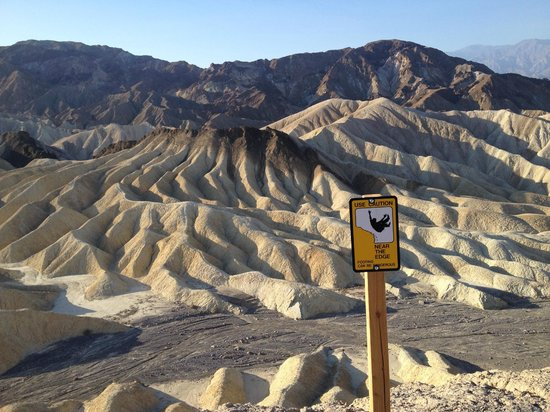Furnace Creek Resort & Fiddler's Campground : View from Zabriskie Point
