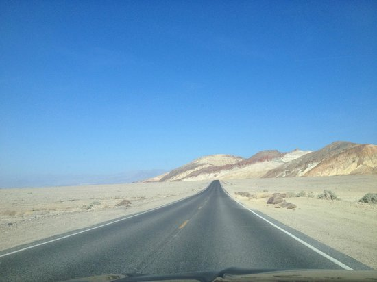 Furnace Creek Resort & Fiddler's Campground: The open road!