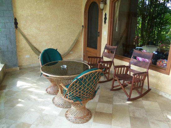 The Springs Resort and Spa: Room Patio