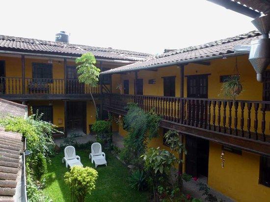"""Hostal Los Balcones de la Recoleta: Patio des """"Balcones"""""""