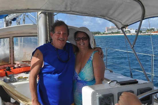 Captain Morgan's Sailing Adventure: My hubby and I