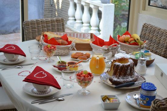 Le Refuge : petit déjeuner