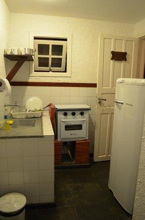 Pousada Jamanta: Cozinha