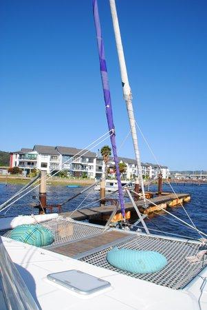 Heads Explorer Catamaran Day Cruises: The Catamaran with bean bags