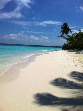 Safari Island: Standbereich auf Beach-Bungalow Seite Richtung Ost