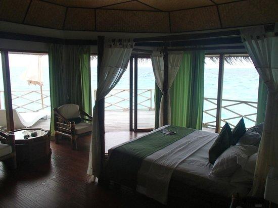 Safari Island: Blick vom Bett