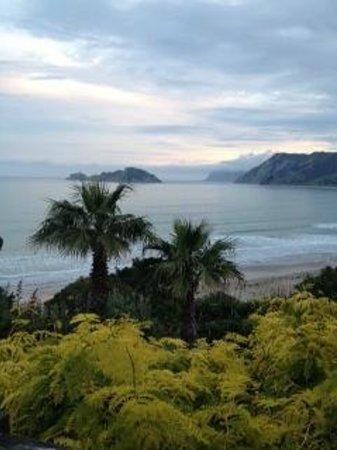Rangimarie Beachstay: View from the loft room balcony