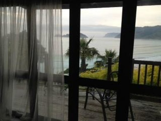 Rangimarie Beachstay: View from the loft room lounge
