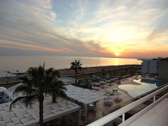 Piere Anne Beach Hotel: Виз с балкона отеля