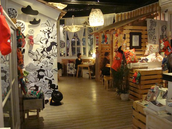 Ximen Red House - Ximending: Somebody cafe