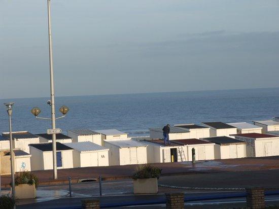 Hotel De La Plage : view from room 44