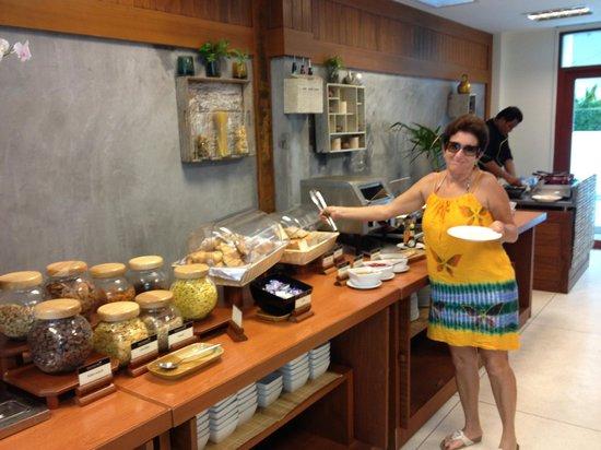 Phunawa Resort: magnífico café da manhã, minha mae adorou