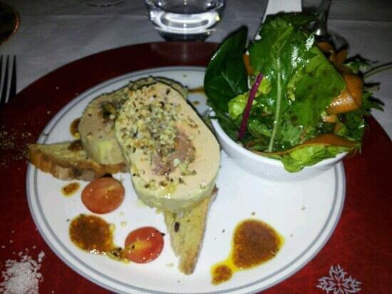 Hostellerie de Fontanges : foie gras