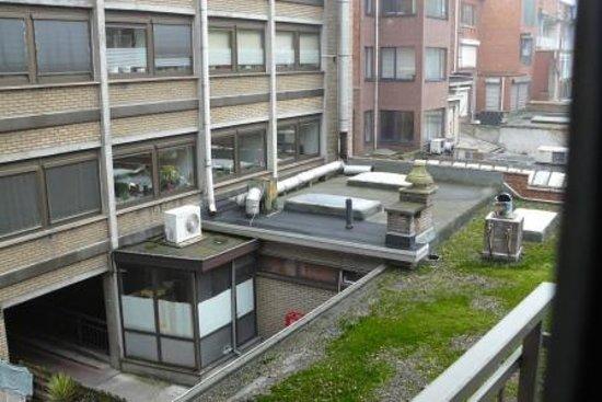 Astoria Hotel Antwerp: view from room