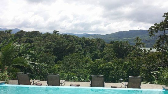 Toad Hall Hotel Arenal: Best views on our trip.