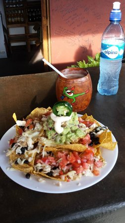 Toad Hall Hotel Arenal: Nachos were SO good!