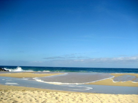 Arriba de la Roca : Great beach for morning walks