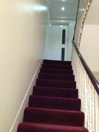 Royal Guest House: The Narrow stairs