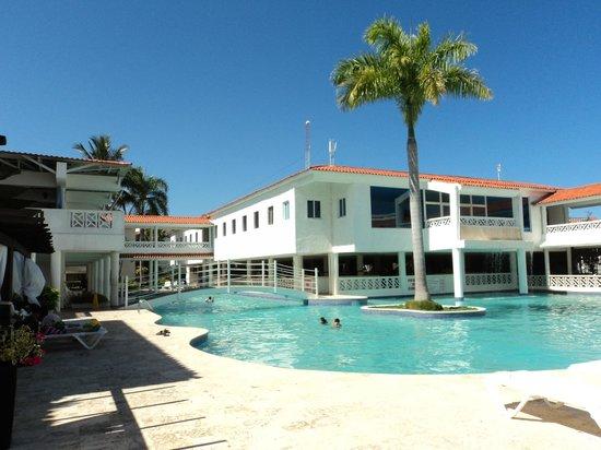 Hotel Beach House Playa Dorada: Bonne nourriture...service super gentil