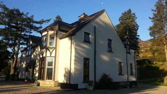 Crubenbeg House : The lovely house from outside