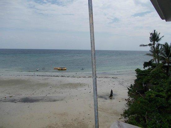 Santiago Bay Garden & Resort: view from the balcony