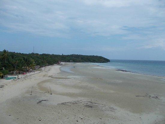 Santiago Bay Garden & Resort: view from balcony