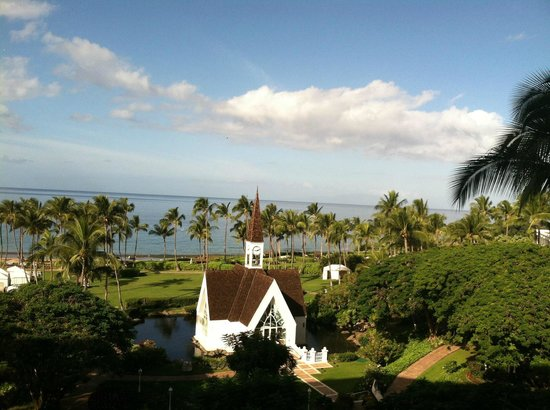 Grand Wailea - A Waldorf Astoria Resort: Ocean view from 6th floor balcony in Napua Tower