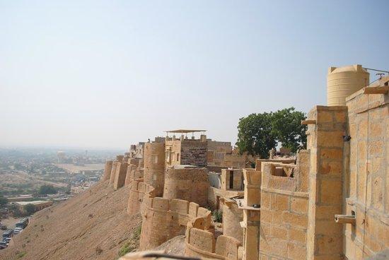Sagar Guest House : roof view
