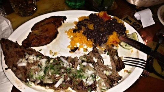 El Meson de Pepe : A fabulous Charasco Dinner    so tender and tasty