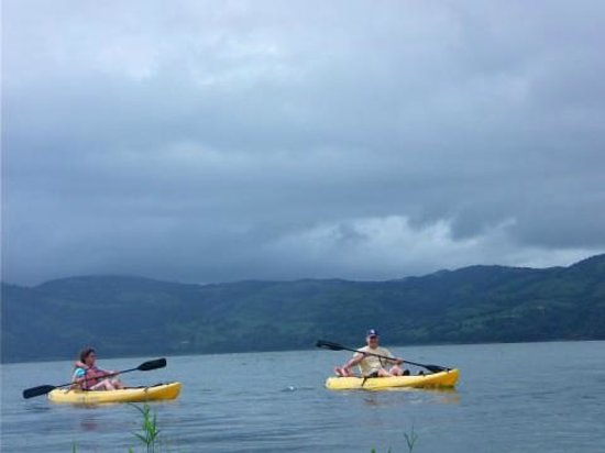 Nuevo Arenal, Κόστα Ρίκα: Kayaking on Lake Arenal